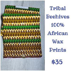 Tribal Beehives - African Wax Prints